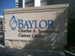 Baylor Hospital Monument Sign